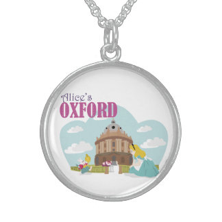 Alice's Oxford Sterling Silver Round Necklace