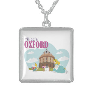 Alice's Oxford Sterling Silver Square Necklace