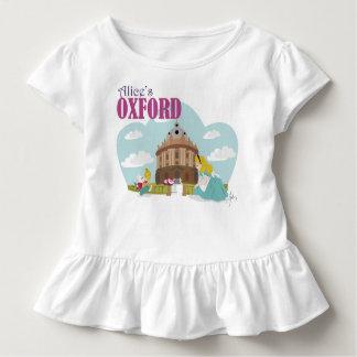 Alice's Oxford Toddler Ruffle Tee, White T-shirt