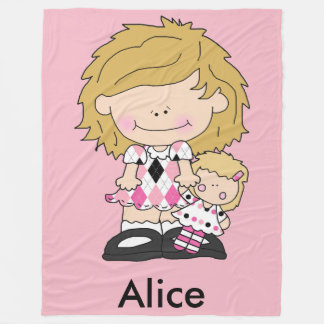 Alice's Personalized Blanket