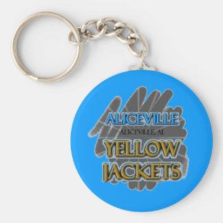 Aliceville Yellow Jackets - Aliceville, AL Key Ring