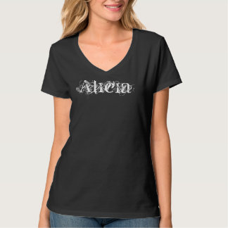 Alicia Custom Name Shirt
