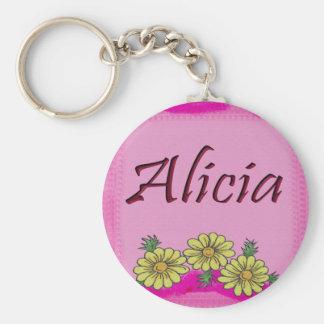 Alicia Daisy Keychains