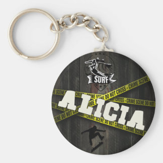 ALICIA - Skater Style Key Ring