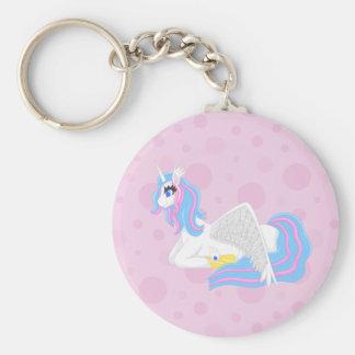 alicorn keychain