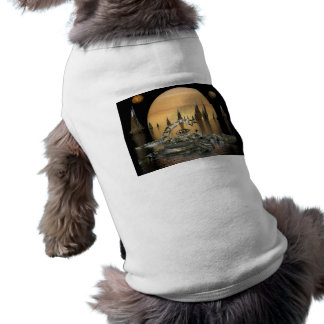 alien-445408 SCIENCE FICTION FANTASY WORLDS alien Sleeveless Dog Shirt