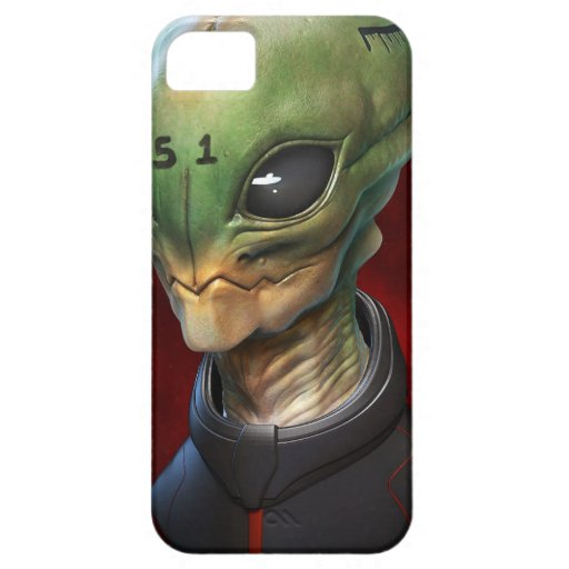 Alien 51 iPhone 5/5S cases