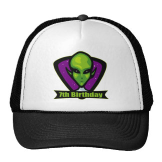 Alien 7th Birthday Gifts Hats