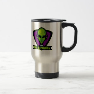 Alien 9th Birthday Gifts Coffee Mug