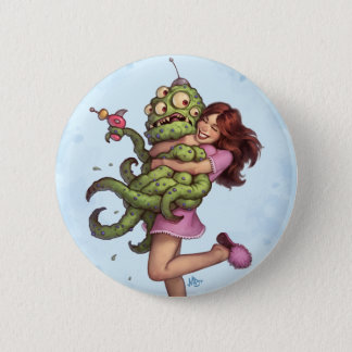 Alien Abduction 6 Cm Round Badge