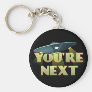 Alien Abduction, You Are Next Key Ring
