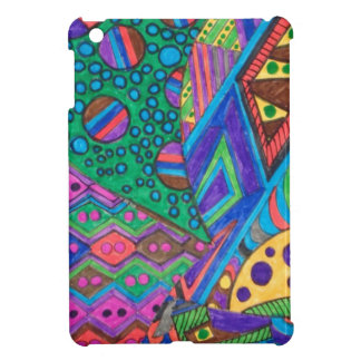 ALIEN ABSTRACT CASE FOR THE iPad MINI