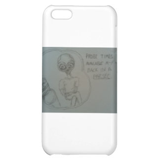 alien advertisement cover for iPhone 5C