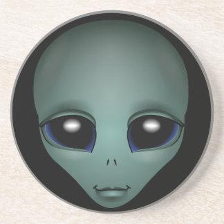 Alien Art Coasters Extraterrestrial Gifts & Decor