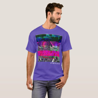 Alien Bad Signal Glitch T-Shirt