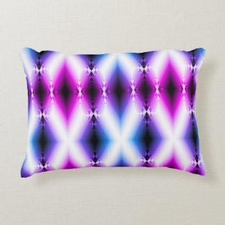 Alien Beam Bright Pink Purple Teleport Future Decorative Cushion