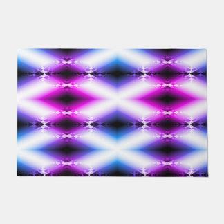 Alien Beam Bright Pink Purple Teleport Future Doormat