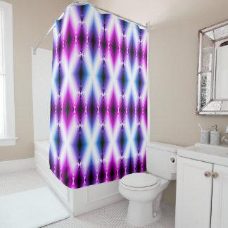 Alien Beam Bright Pink Purple Teleport Future Shower Curtain