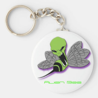 Alien Bee Key Chain