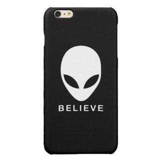 Alien Believe Glossy iPhone 6 Plus Case