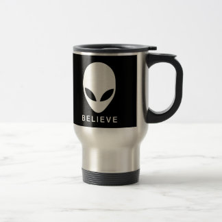 Alien Believe Travel Mug