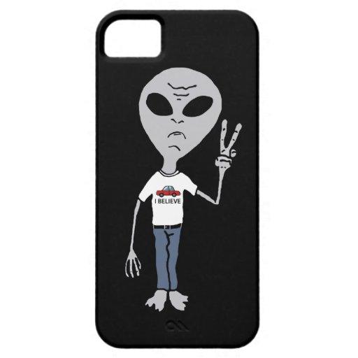 Alien Believer iPhone 5 Covers