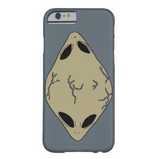 Alien Blue Cell Phone Case