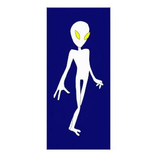 Alien Bookmark Personalised Rack Card