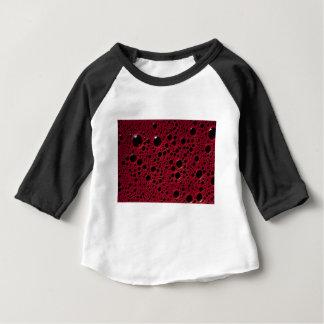 Alien bubbles bordeaux texture baby T-Shirt