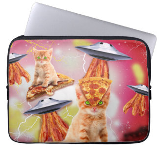 alien cats and the ufos computer sleeves