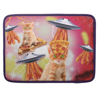 alien cats and the ufos MacBook pro sleeves