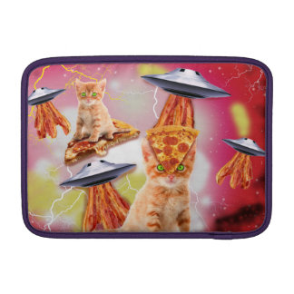 alien cats and the ufos MacBook sleeves
