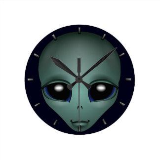 Alien Clock ET Gift Alien Decor Alien Gifts