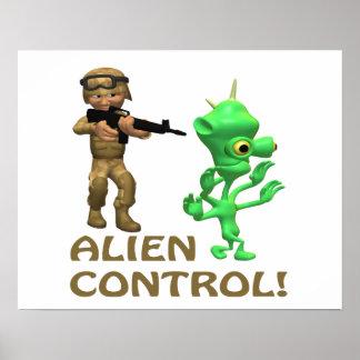 Alien Control Print