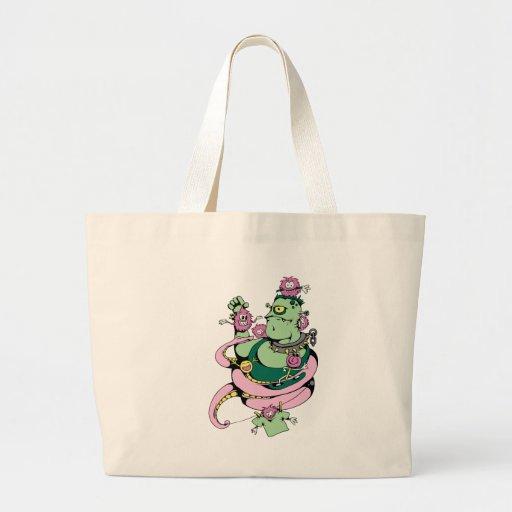 Alien Creature & Monsters Fantasy Art Tote Bag
