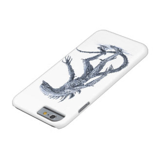 Alien Creature with Skull Barely There iPhone 6 Case