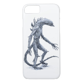 Alien Creature with Skull iPhone 7 Case