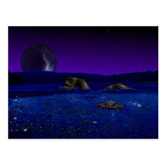 Alien Creatures Postcard