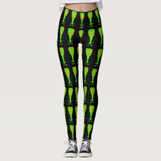 Alien design leggings