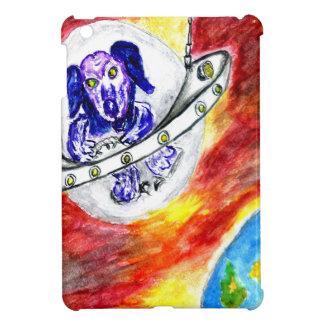 Alien Dog in Space Art iPad Mini Covers