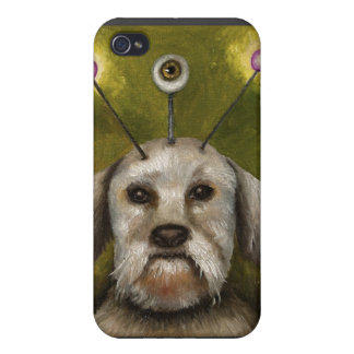 Alien Dog iPhone 4/4S Cover