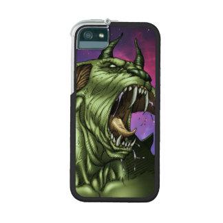 Alien Dog Monster Warrior by Al Rio iPhone 5/5S Case