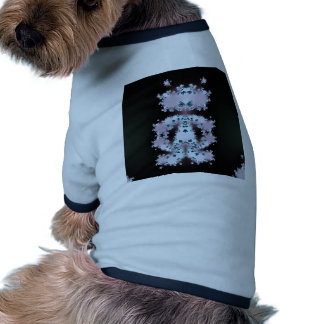 Alien Dude Fractal Design Dog T-shirt