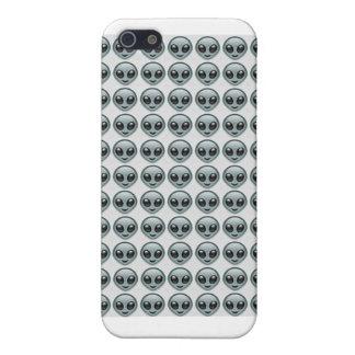 Alien Emoji All Over iPhone 5 Case