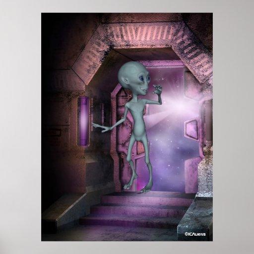 Alien Encounters Poster