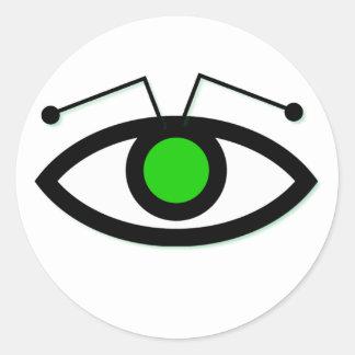 Alien Eye Sticker