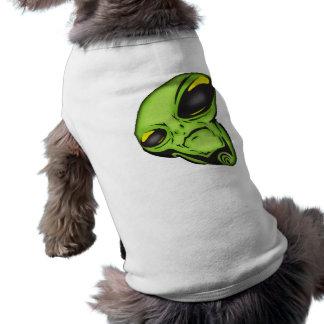 Alien Eyes Sleeveless Dog Shirt