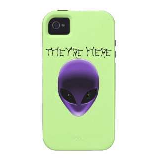 Alien Face Case-Mate iPhone 4 Covers