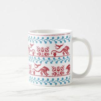 Alien folk fusion coffee mug