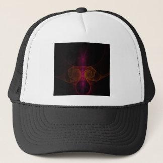 Alien fractal trucker hat